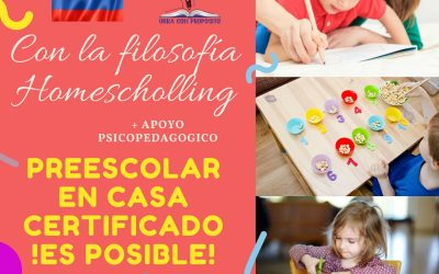 Preescolar en Casa Certificado ¡Es Posible!